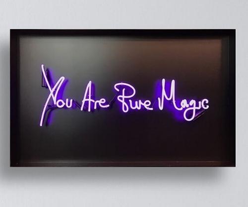 Lauren Baker Neon Art