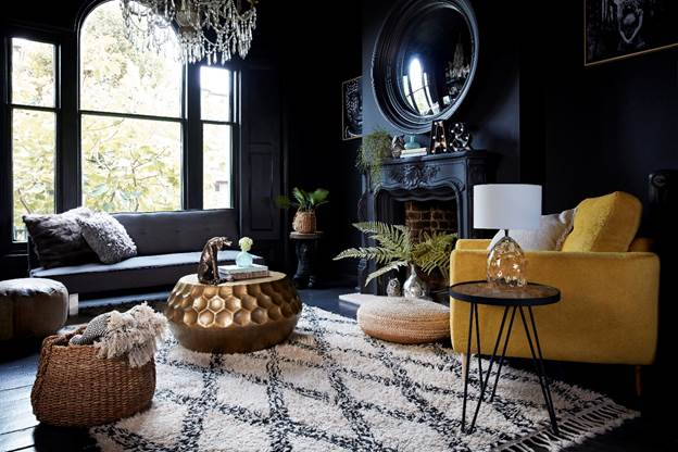 The photo above is one taken from the shoot in Abigail's home. Photo curtesy of Wayfair and Abigail Ahern