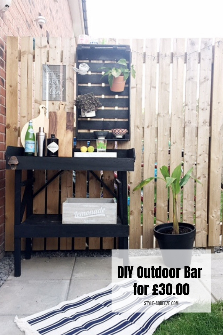 DIY Outdoor Bar for £30.00!!!