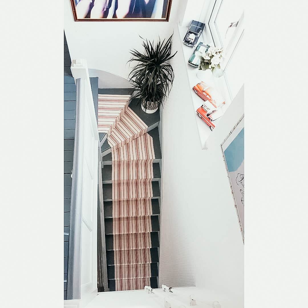 Diy Ikea Hack Signe Rug Staircase