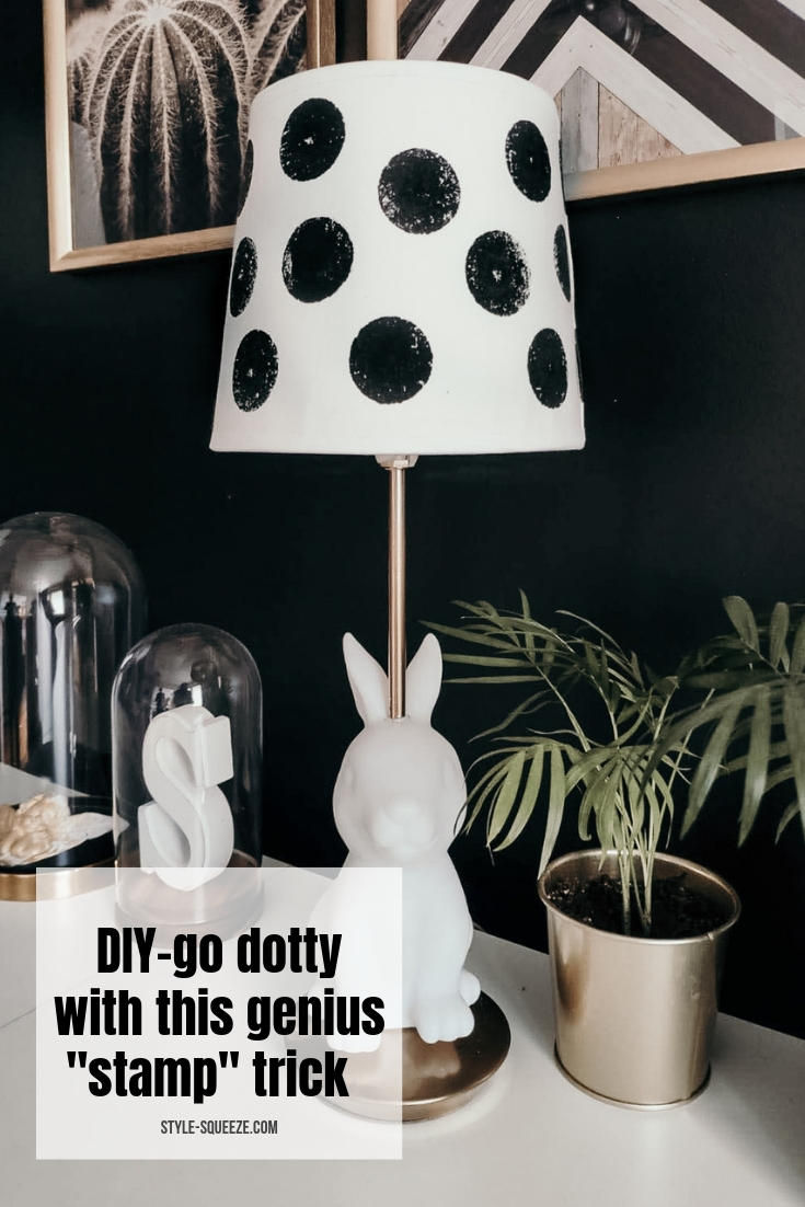 "DIY- Go Dotty with this genius ""stamp trick"""