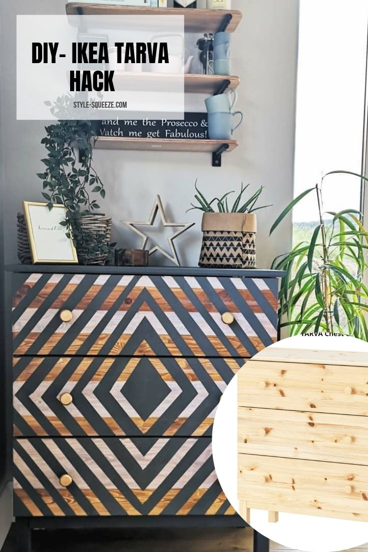 DIY/ IKEA HACK -TARVA UPCYCLE
