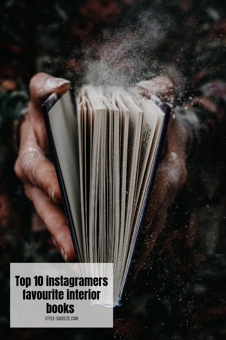 "Top 10 ""Instagram"" favorite interior books"
