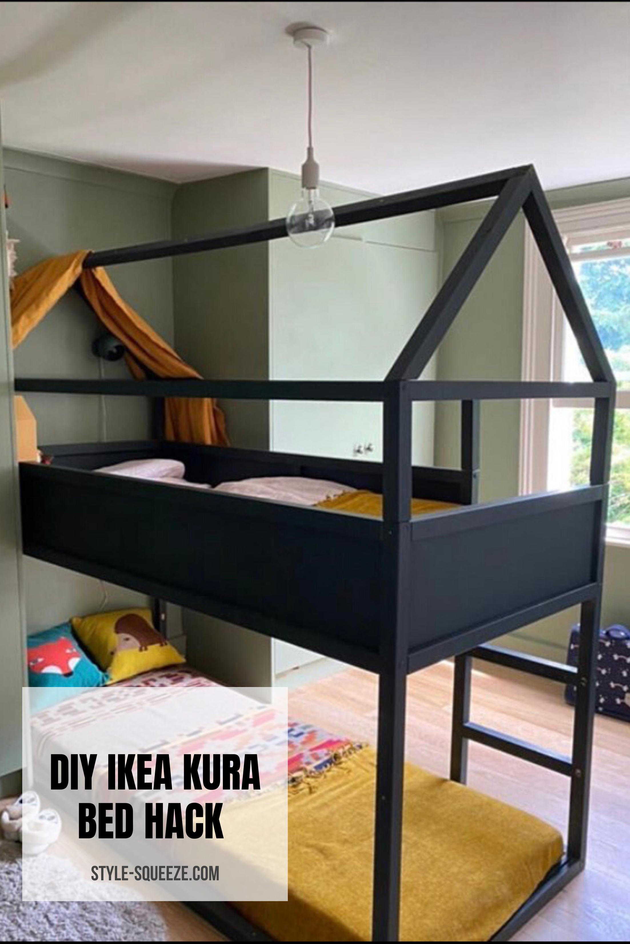 Diy Ikea Kura Bed Hack Style Squeeze