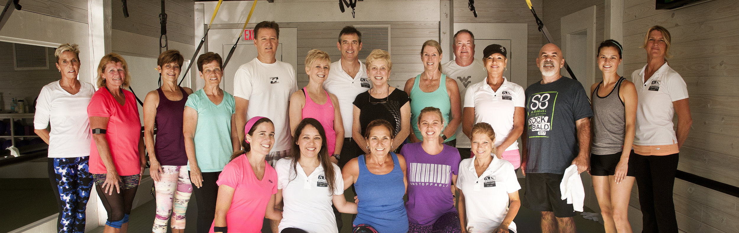 Fitness Therapy gym members