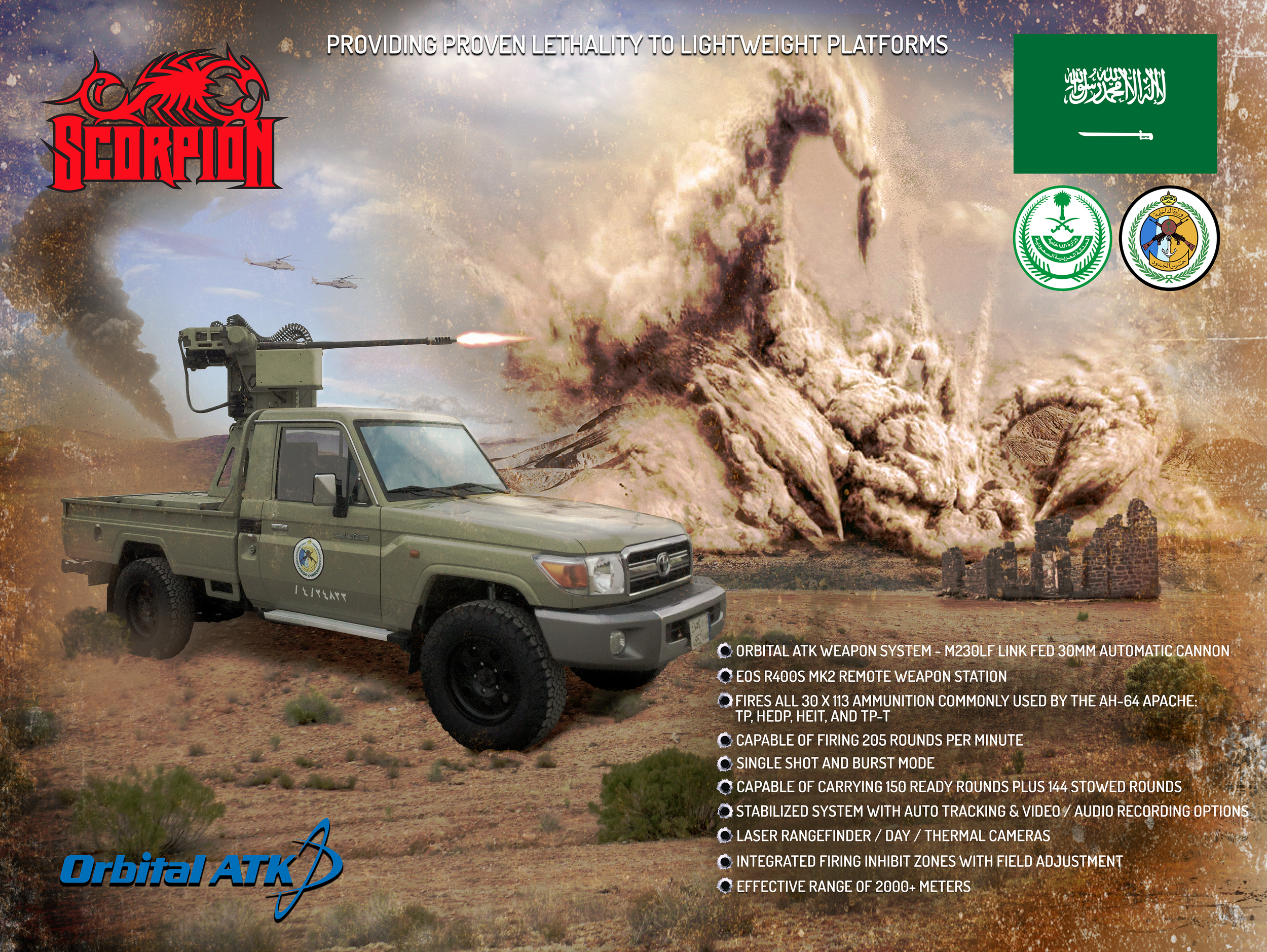 Orbital ATK Scorpion