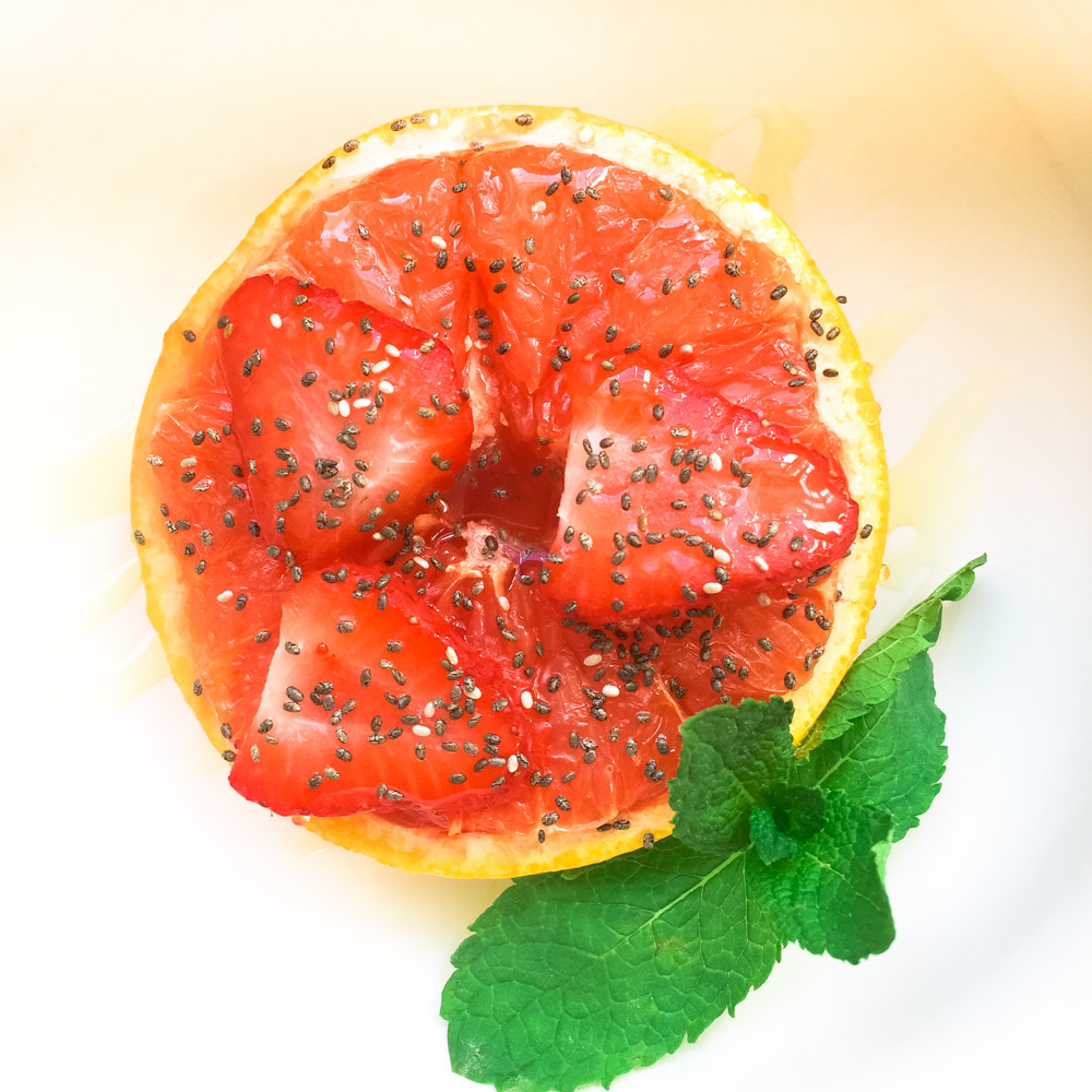 Broiled Grapefruit  - Delicious way to start your day!