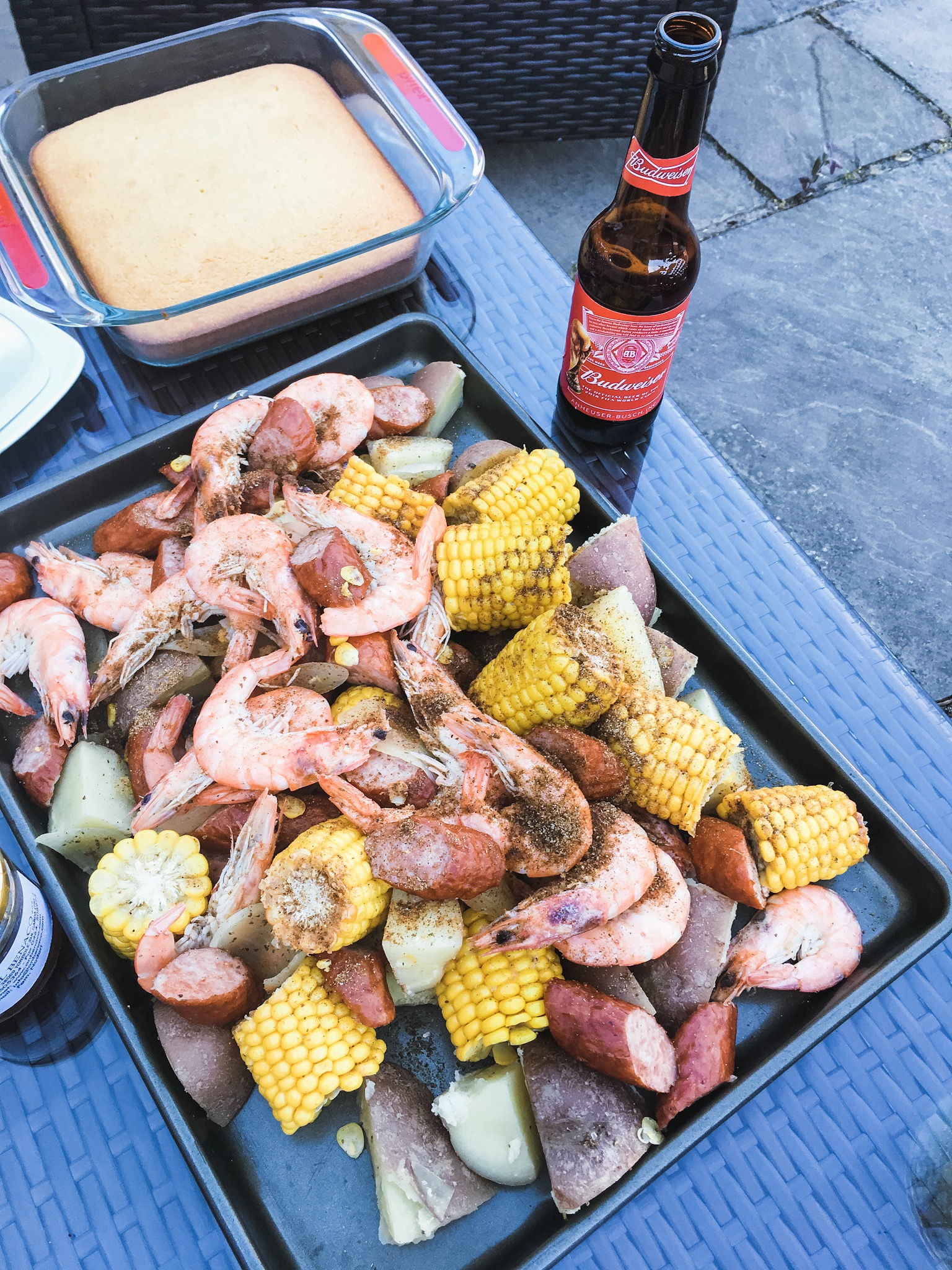 American Style Shrimp Boil - An amazing meal that brings people together with minimal clean up!