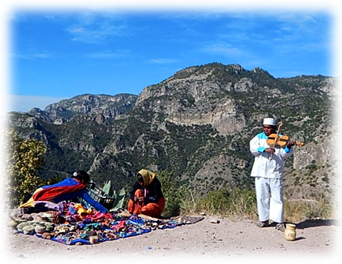 Tarahumara Fiddle in the Canyon