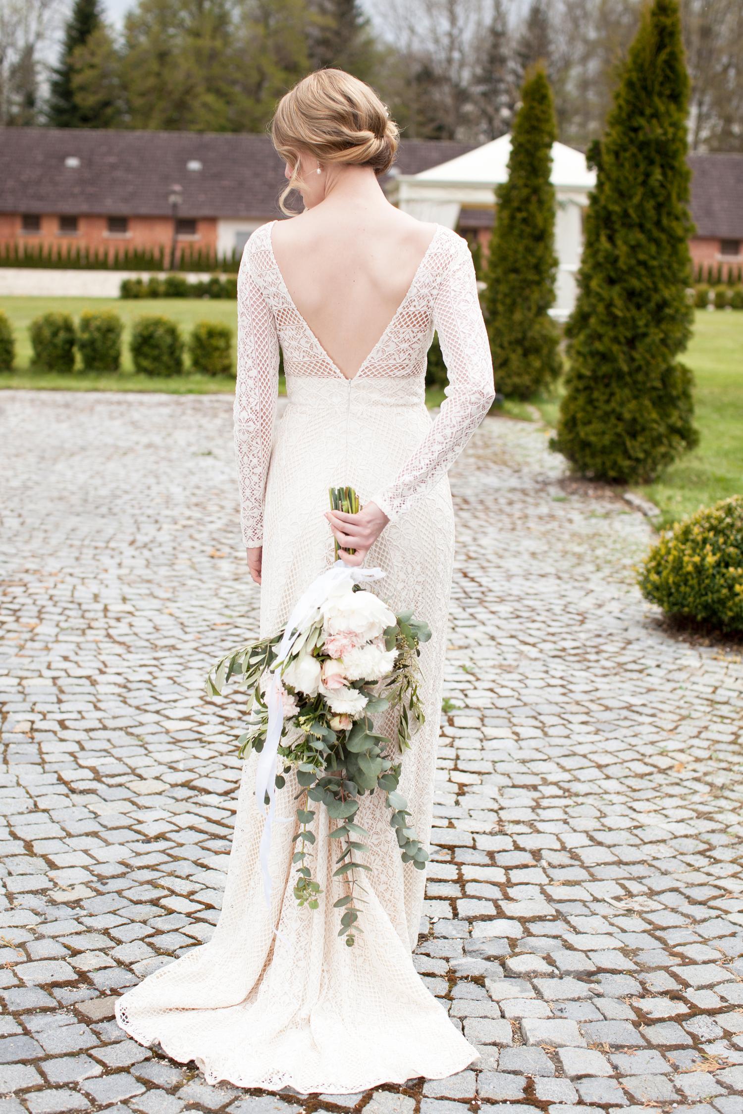 Braut Brautkleid glamourös