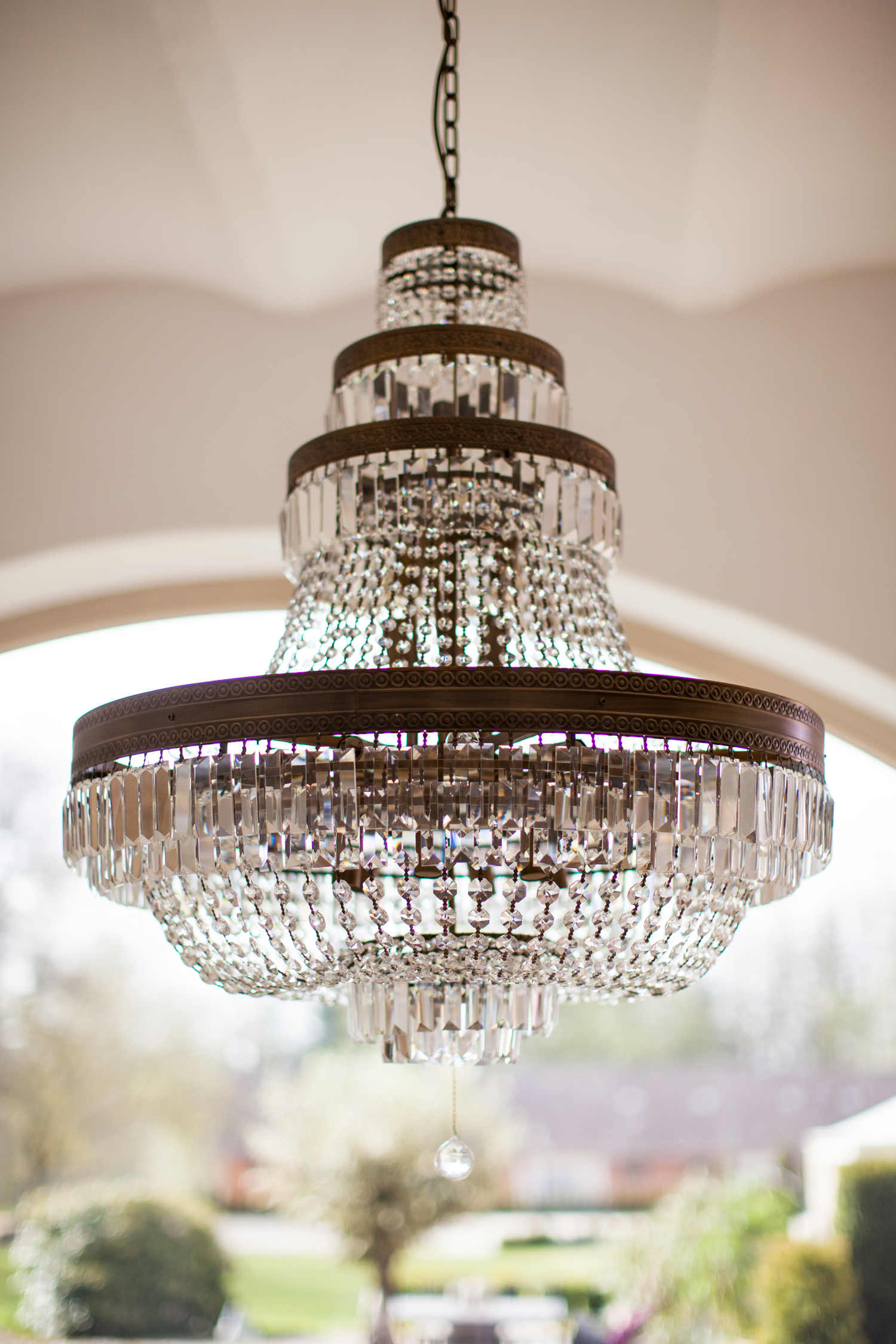 Wedding Chandelier wedding location
