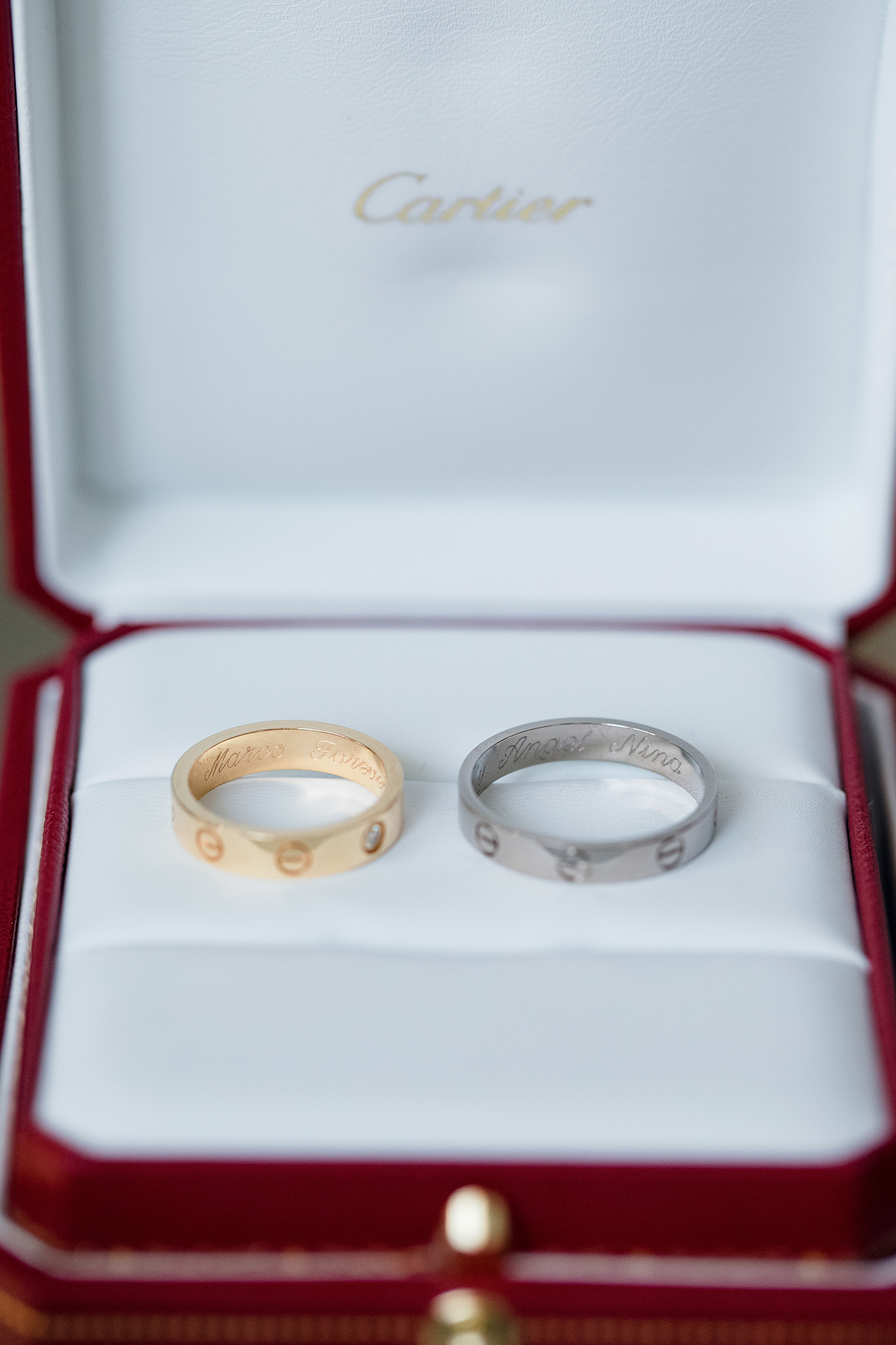 picture: desirePhotography,Jewelry Detail Wedding Rings Cartier
