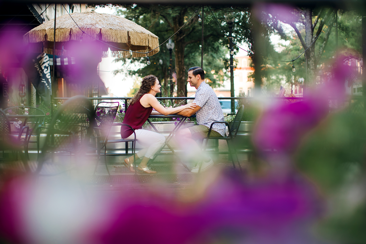 Engagement Session Fayetteville Raleigh  Durham Southern Pines Downtown