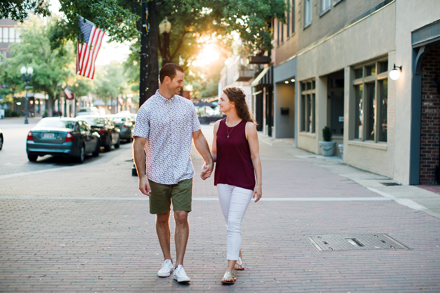 Engagement Session Fayetteville Downtown Raleigh Southern Pines