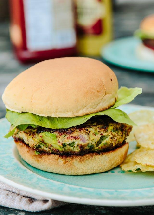 Chicken Guacamole Burger