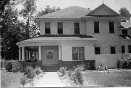 Original Lufkin farmhouse