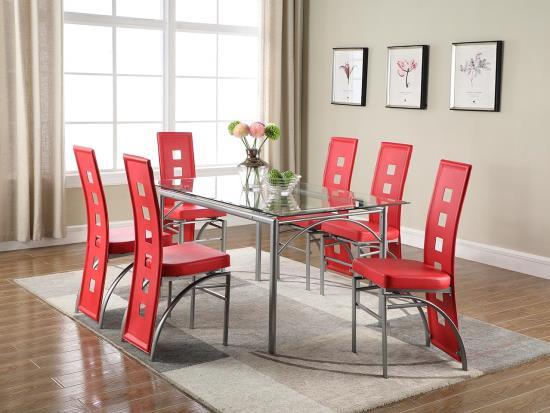 Modern Dining Set Decodesign, Modern Dining Room Furniture Miami