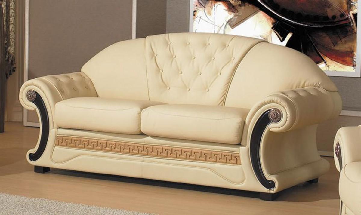 Traditional Italian Leather Set Decodesign Furniture Furniture Store Miami Fl Wholesale Prices