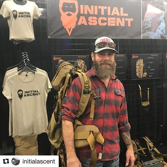 Congrats to @initialascent on their launch this week. Great to see such a cool new company getting after it  #Repost @initialascent ・・・ Huge thank you to all the great people like @ontheflie who helped make our launch a success this weekend @huntexpo. We are honored and humbled by the overwhelming response we received.  #blessed #initialascent #elk #elkhunting #backcountryhunting #backpackhunting #mountaindude #muledeer #muledeerhunting #huntingpack #upyourgame #successweighsheavy #idahobackcountry #westernhunting #biggamehunting #hunt #hunting #publicland