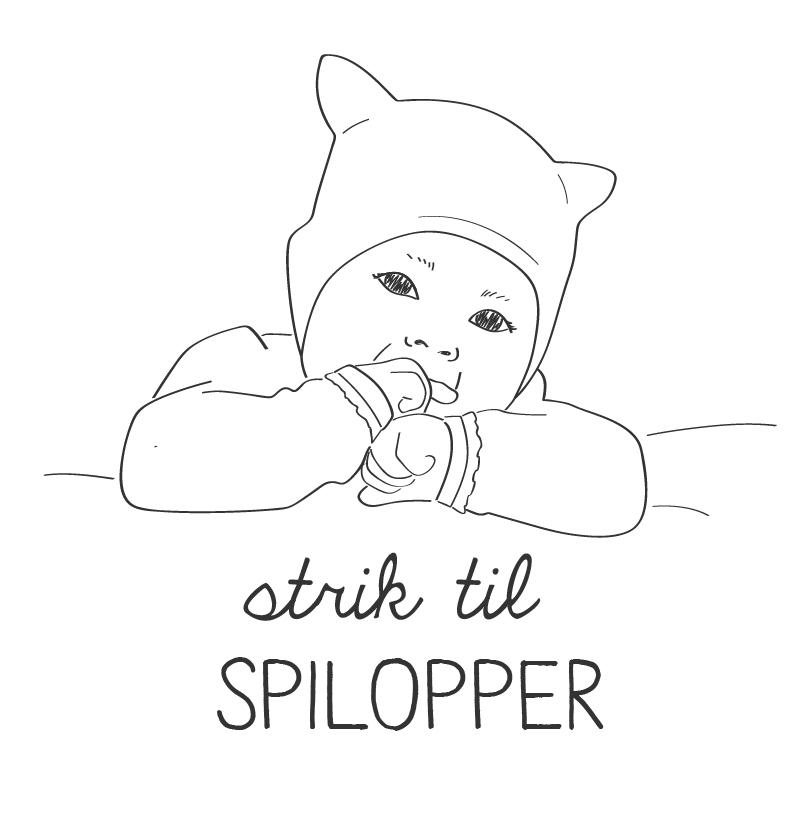 Hæftet Strik til SPILOPPER udkom i 2015. Det indeholder både babyversioner Banditter og også lækre, nye design til familiens mindste.