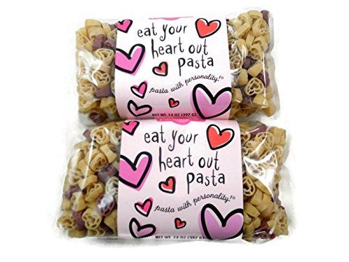 Eat Your Heart Out Pasta. US$5.50 en Pasta Shoppe.