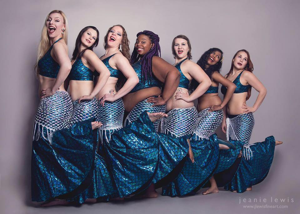 Kat's Troupe Sirens of the Sound. Photo by Jeanie Lewis