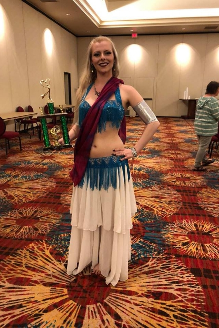 Kat from Belly Dancer USA 2018