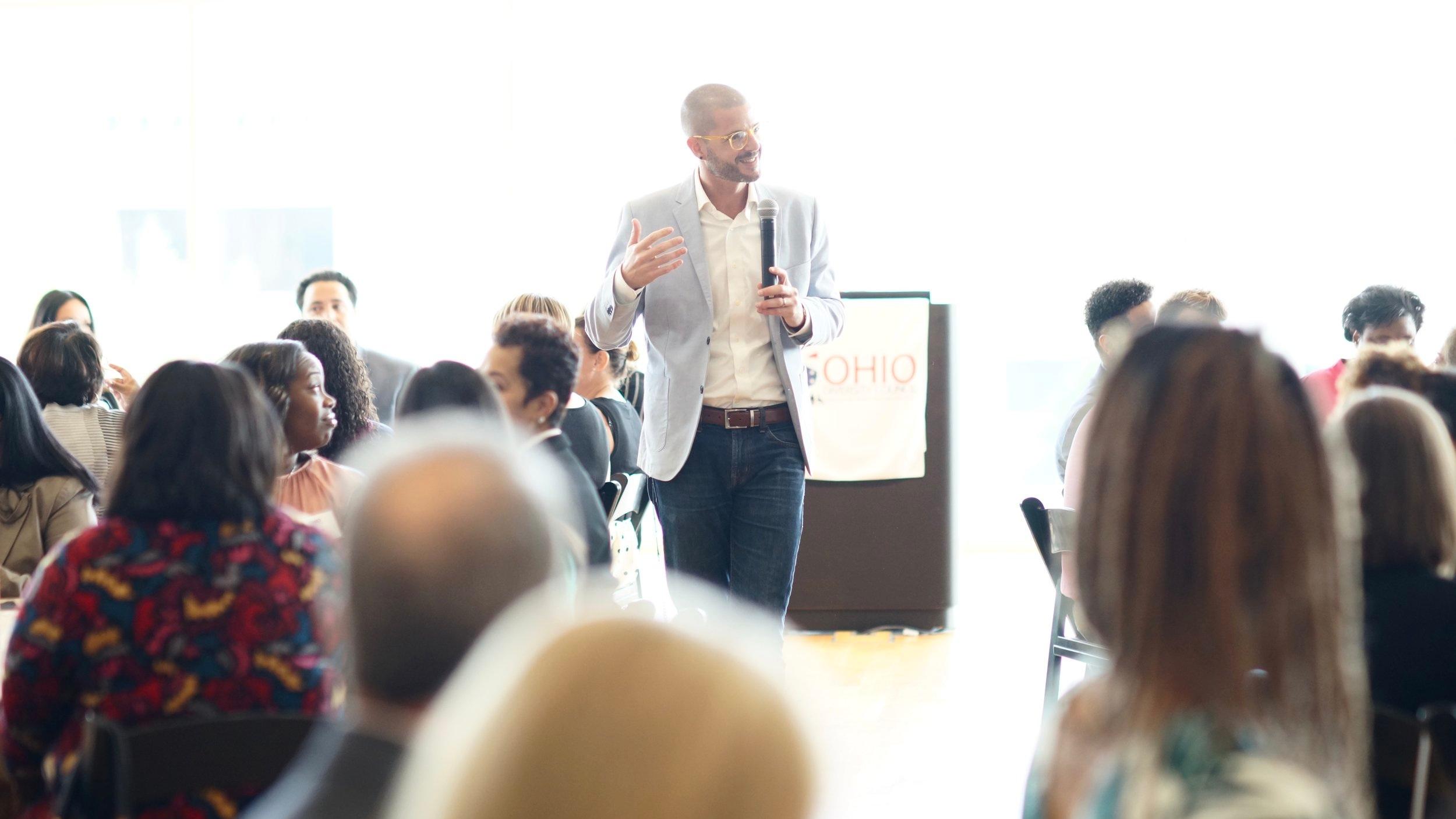 "Testimonial - ""Best speaker I've heard in years."" - Event Attendee"