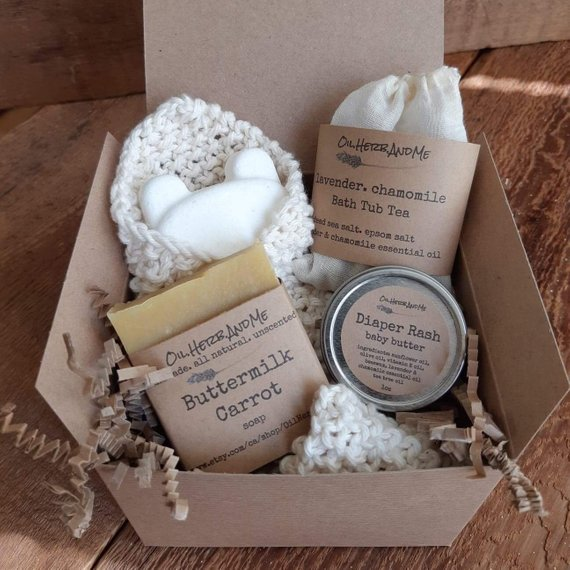 New Mom Spa Gift Set