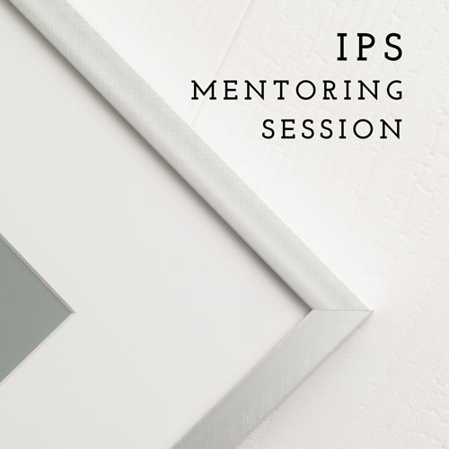 In Person Sales Mentoring: - I will teach you the methods that I use to run a successful IPS (in person sales) based studio. I use multiple tools and steps to create a profitable business based on in-person sales of products and digital image files. I will share this information with you. Includes post-session access to me by email with any additional questions for 60 days. How it works:After you book your IPS mentor session, you will be asked to complete a short questionnaire that will give me an idea of how to prepare for our Skype meeting. From your responses, I'll prepare information to make the most of our time together. I will coach you and help give you the tools to run a successful IPS based business. You will learn how I use email, phone calls, verbiage, and much more. At the end, I will help you implement what you learned and create an action plan for success.BONUS MATERIALS: customizable post-portrait session IPS guide to use with your clients.