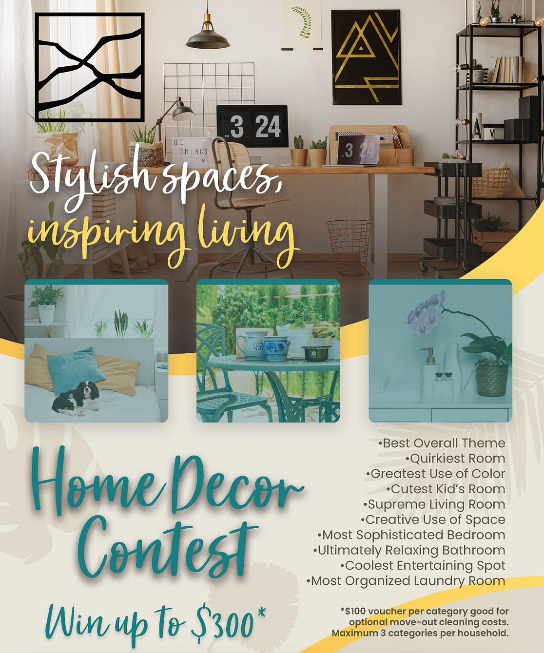 Home Decor Contest — The Villages at Fort Irwin