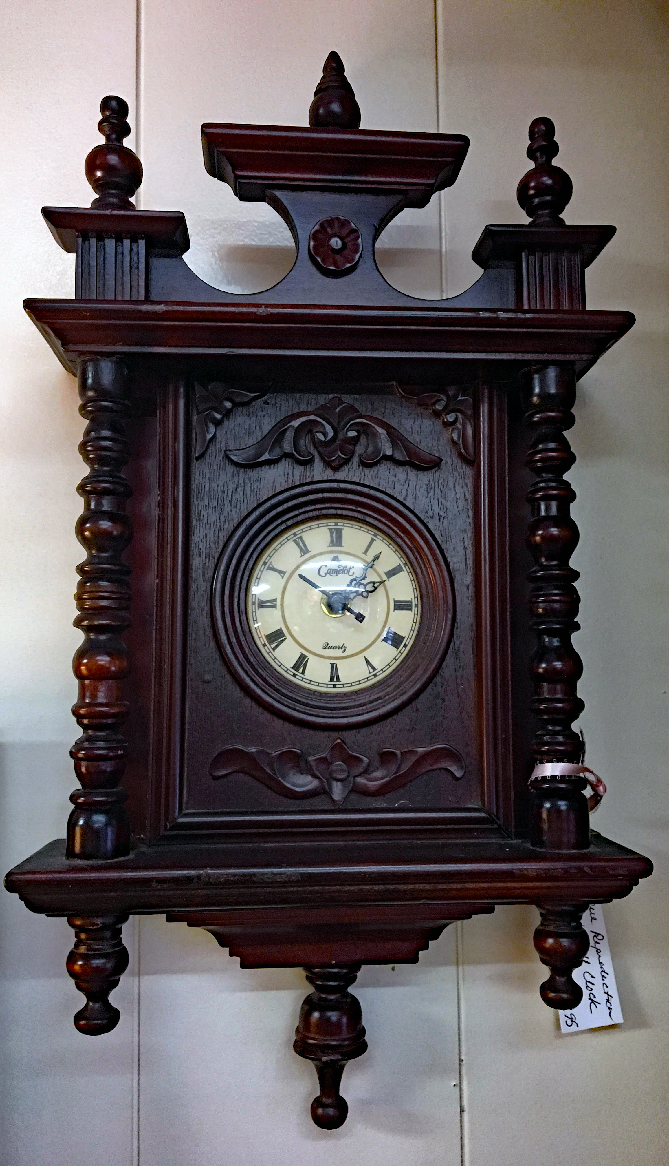 Camelot Quartz Wall Clock (Reproduction)