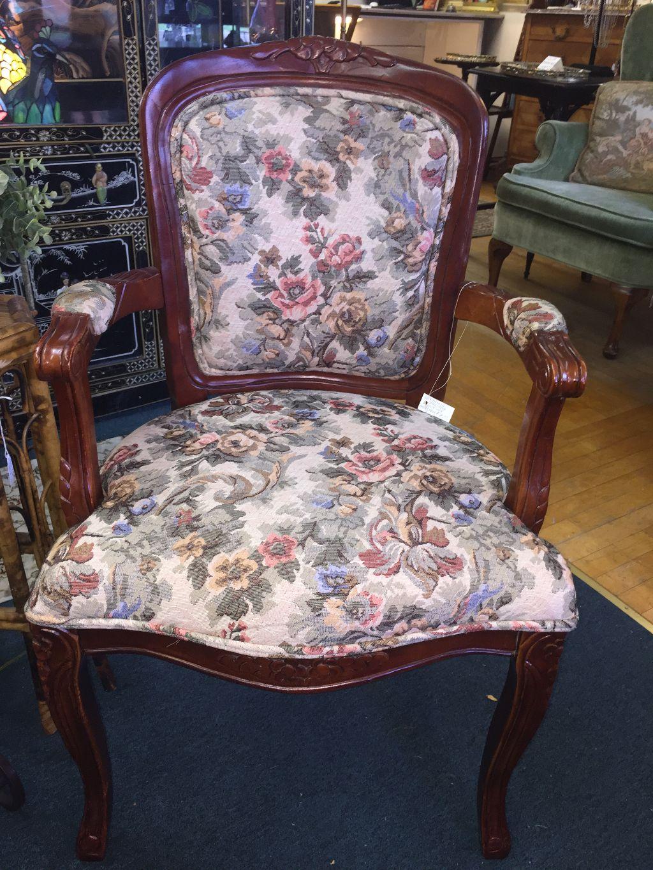 Vintage Tapestry Armchair