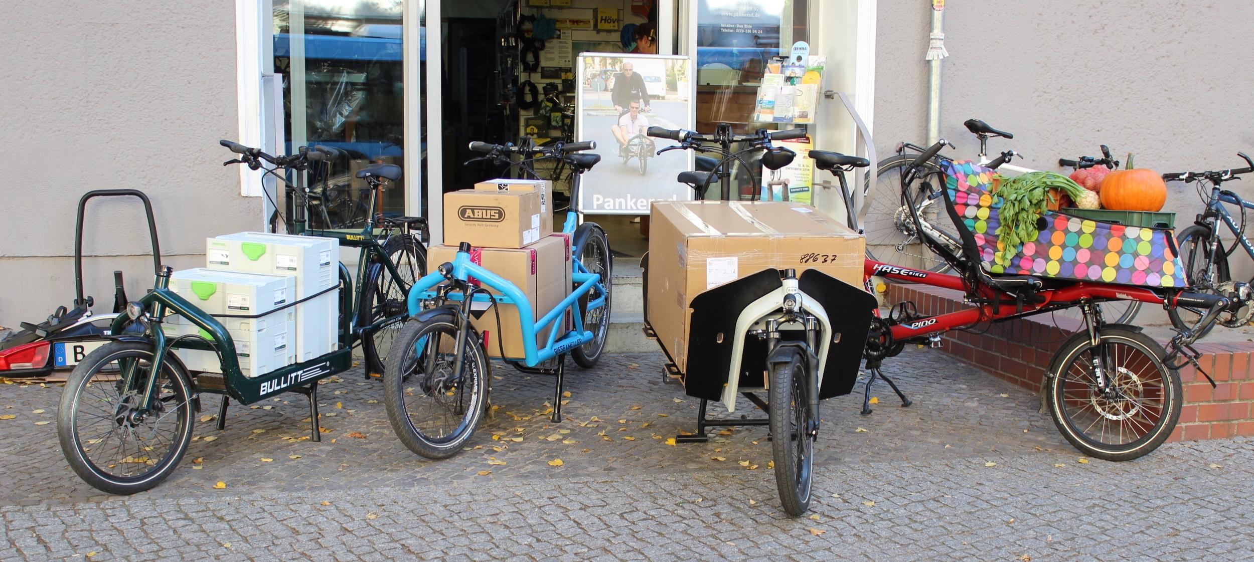 LASTENRAD BERLIN - Vielseitig. flexibel. STabil. schnell.