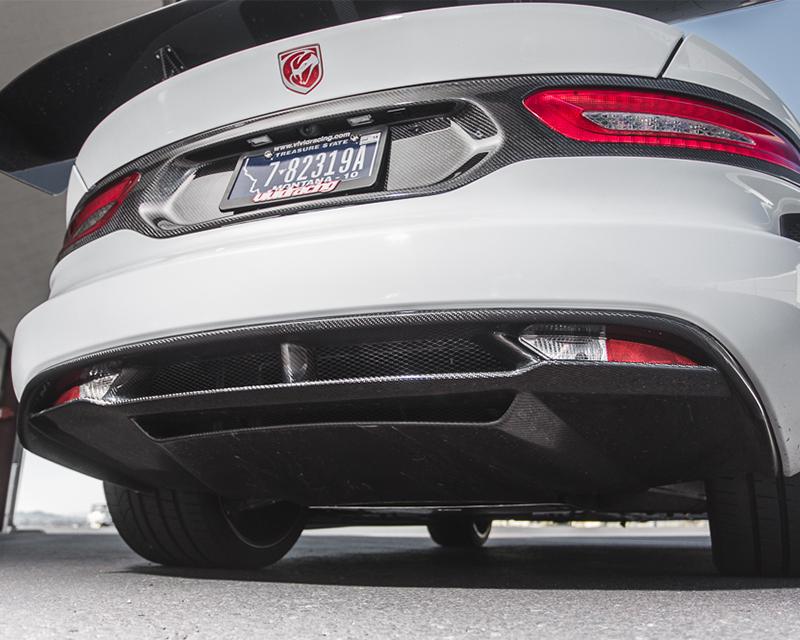 Rear diffuser, Rear Bumper Tail Light Surround