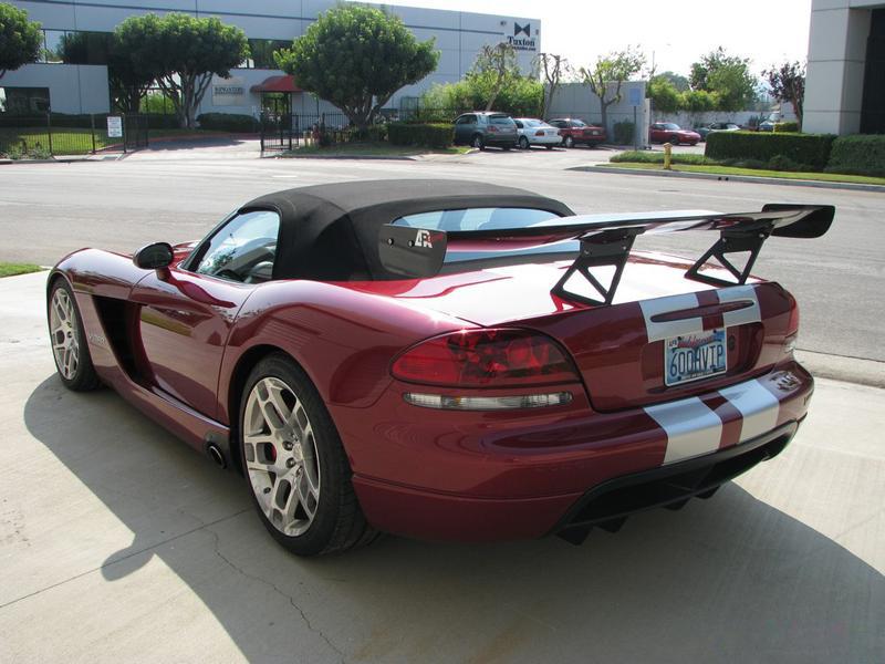 APR GTC-500 Adjustable Carbon Wing
