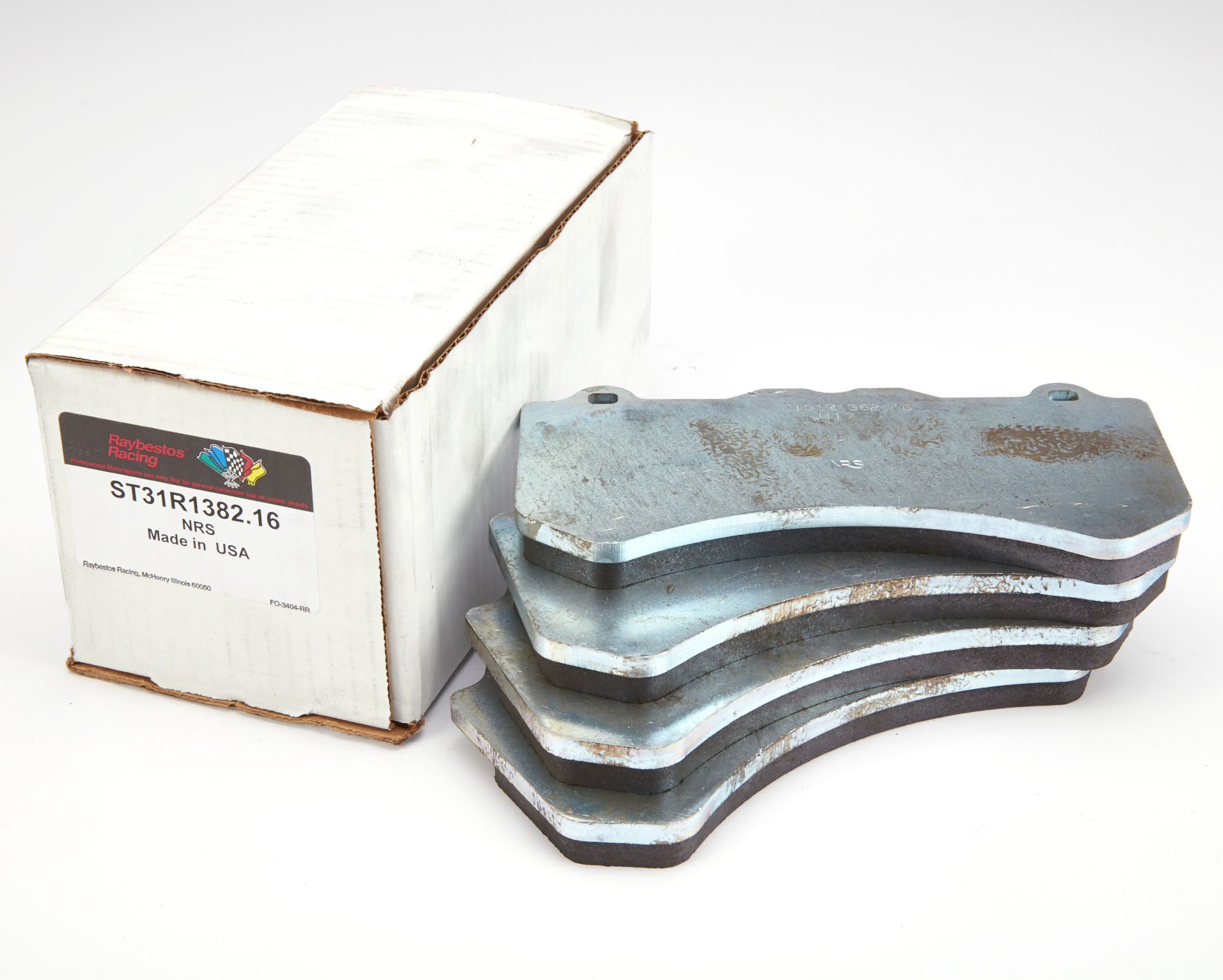 ST43R1382.16 RAYBESTOS front pads