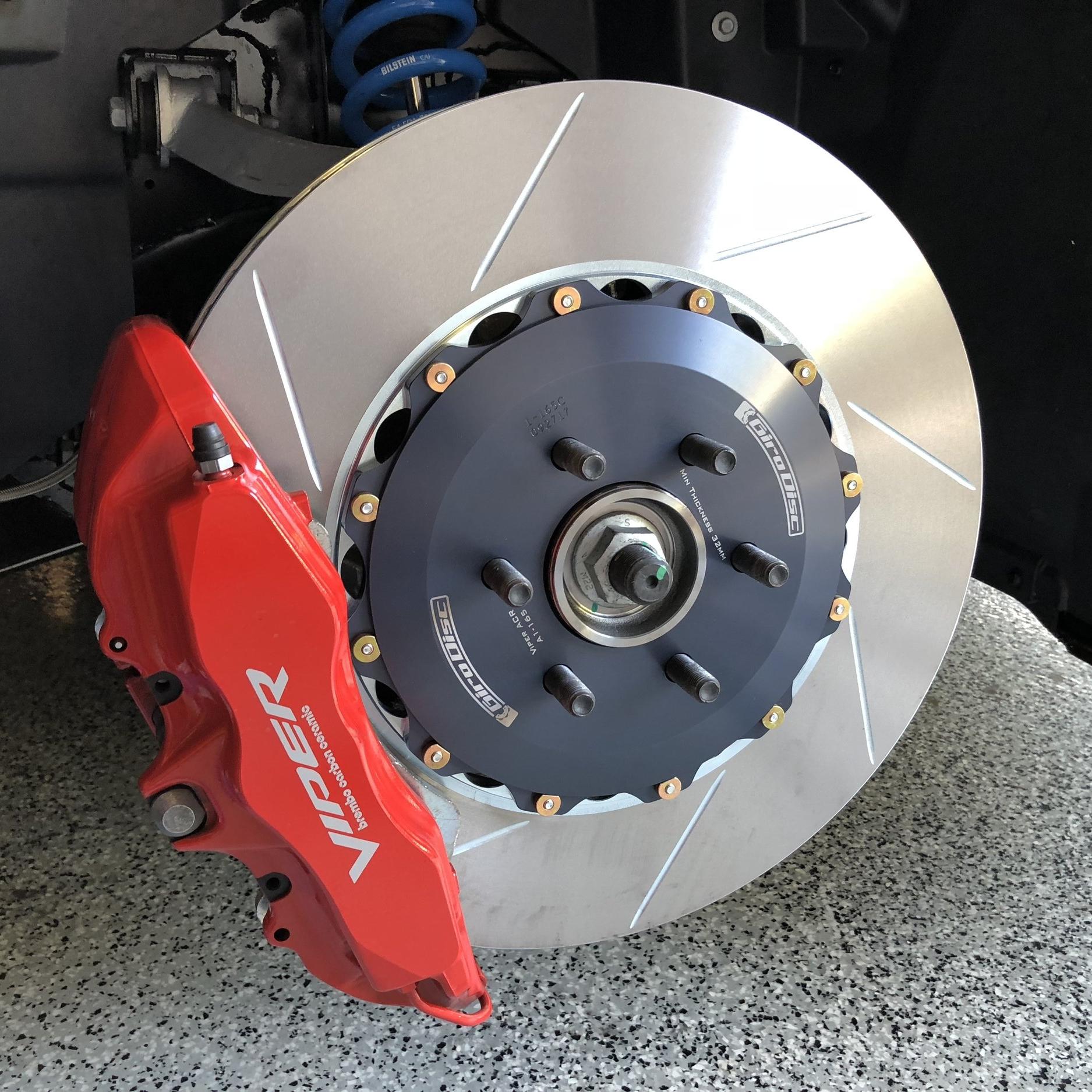 Girodisc ACR-E installed front