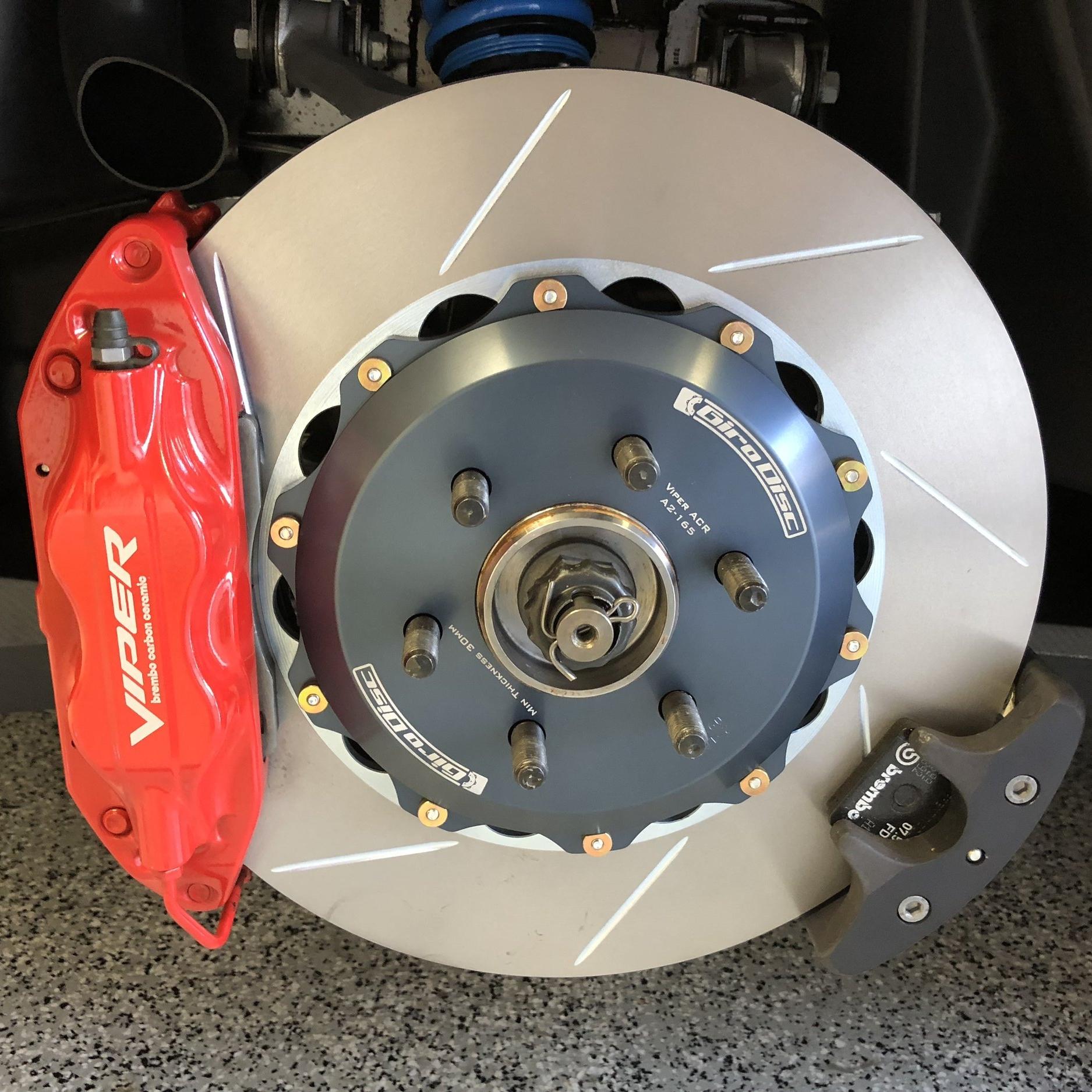 Girodisc ACR-E installed rear