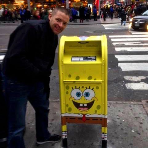 "Smile and say ""SpongeBob!"""