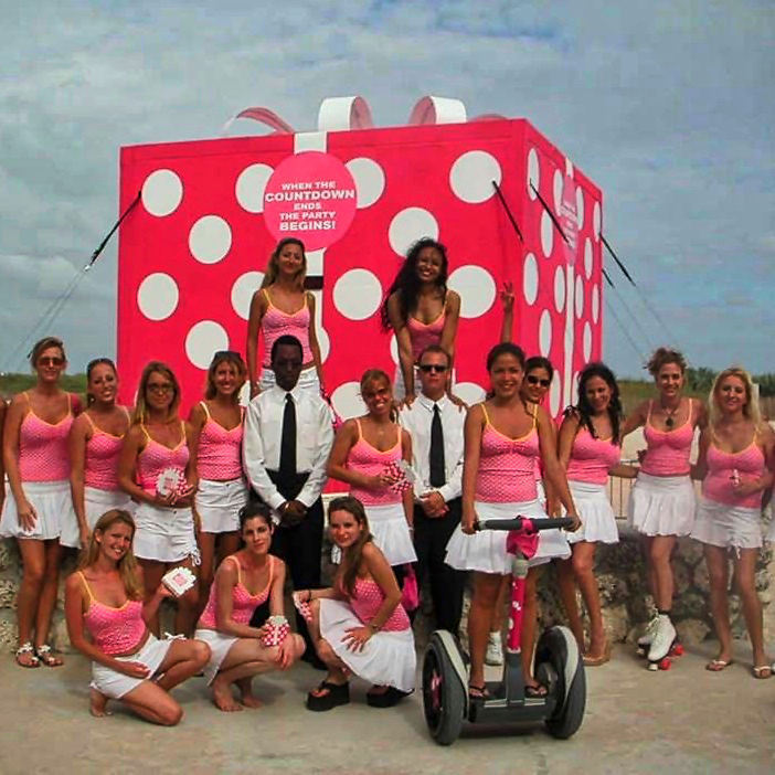 PINK launch event in Miami's South Beach