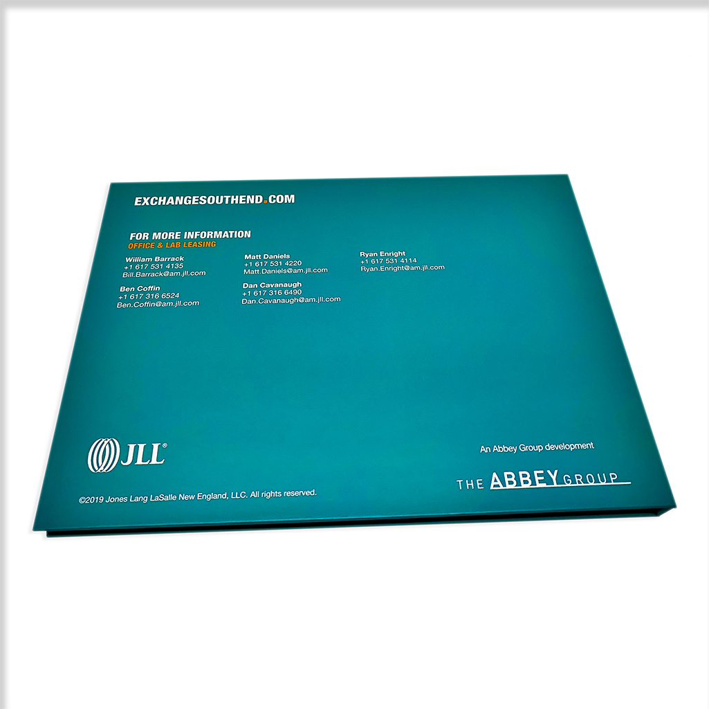 Video brochure back cover