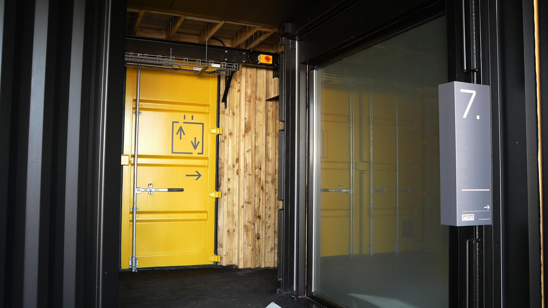 Bebox exterior doors