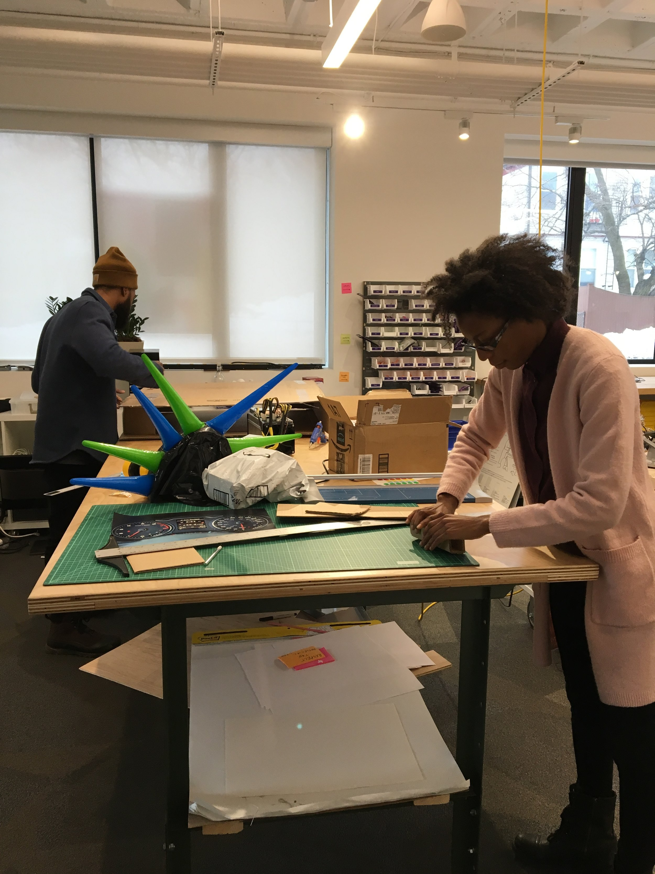 Building a Physical Prototype – IDEO CoLab Fellowship 2018