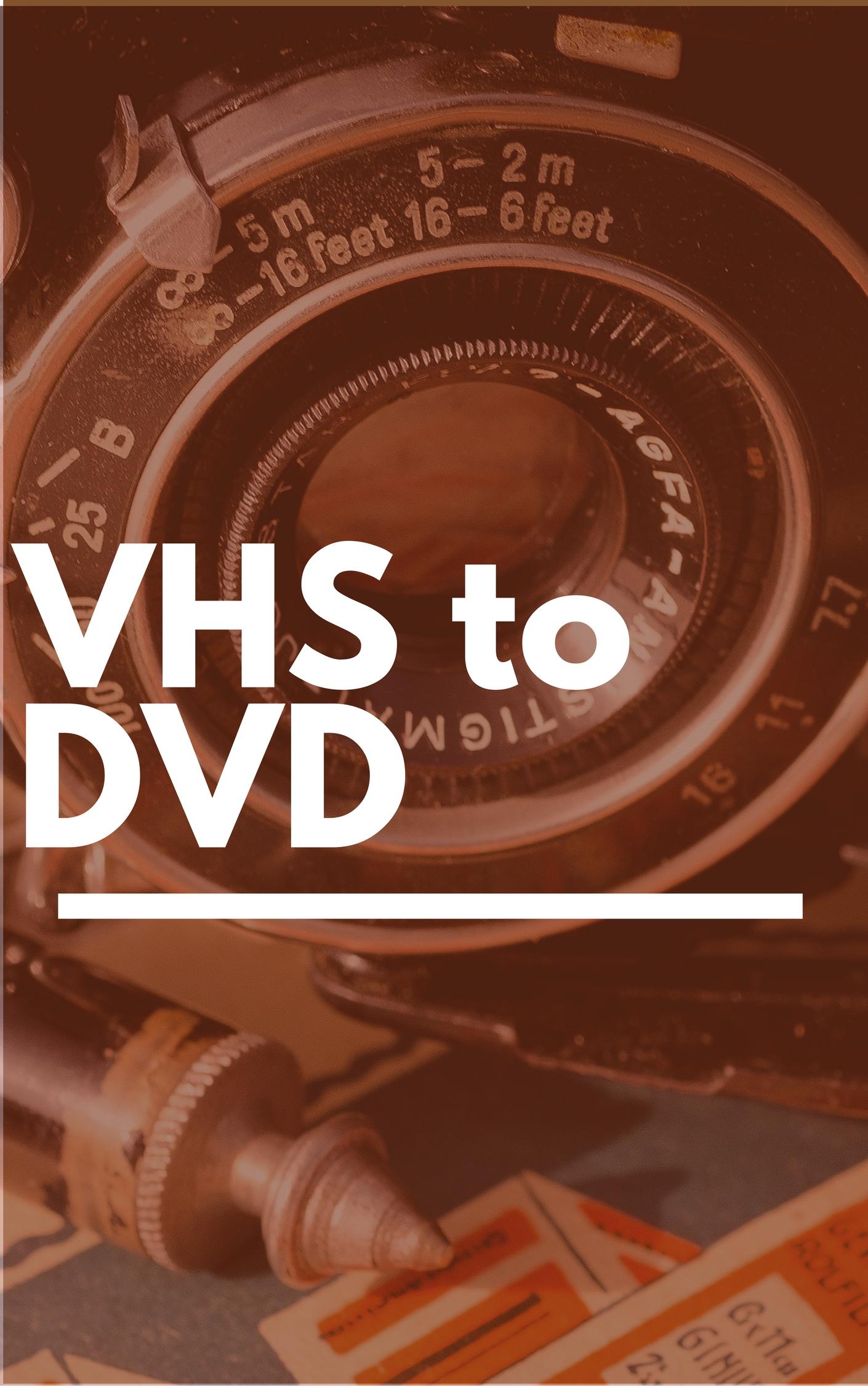 VHS to DVD conversion - Glen Rock Public Library - NJ