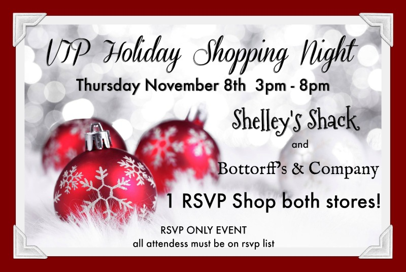 Holiday VIP Shopping Event
