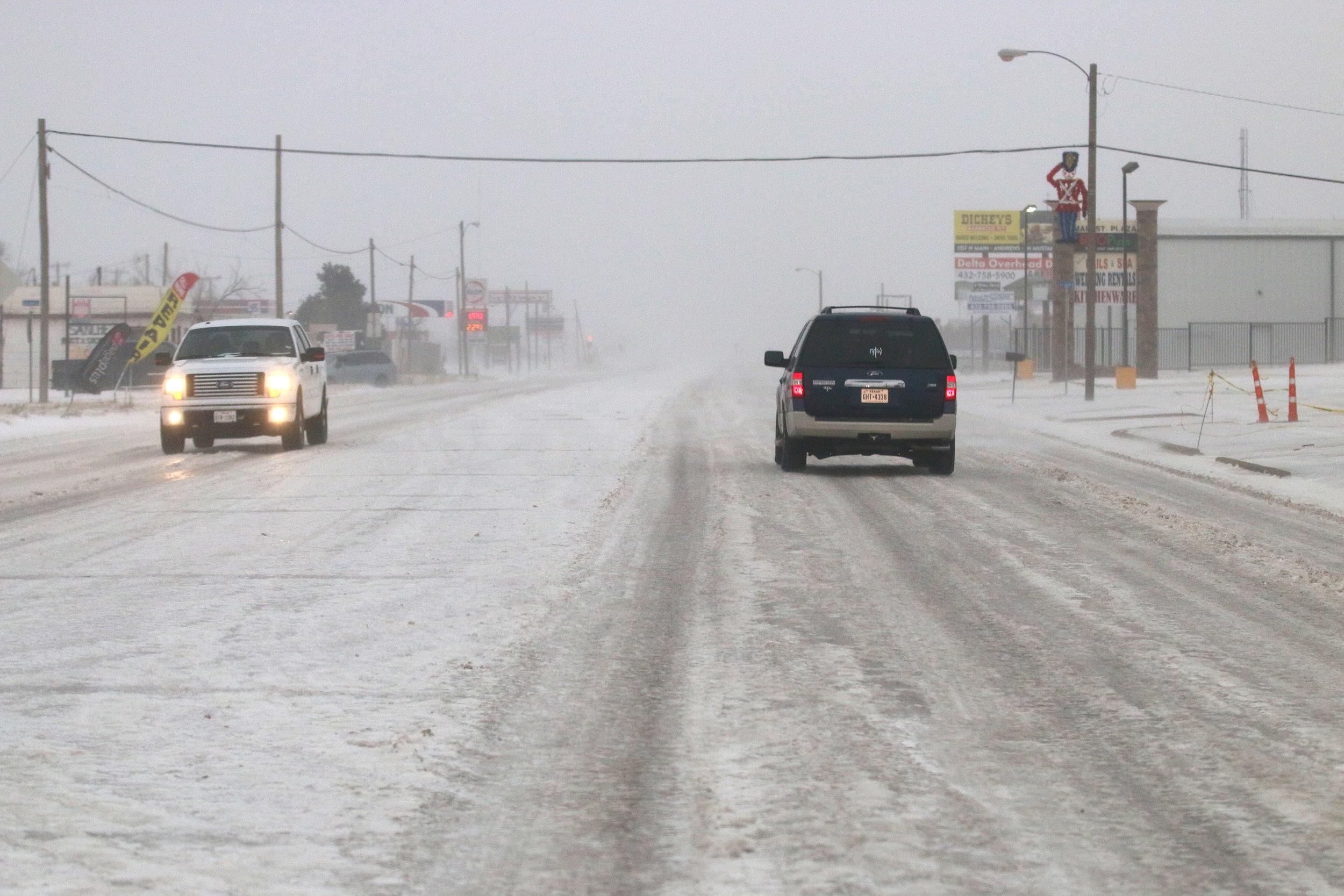 10 Year Winter Storm Seminole Texas