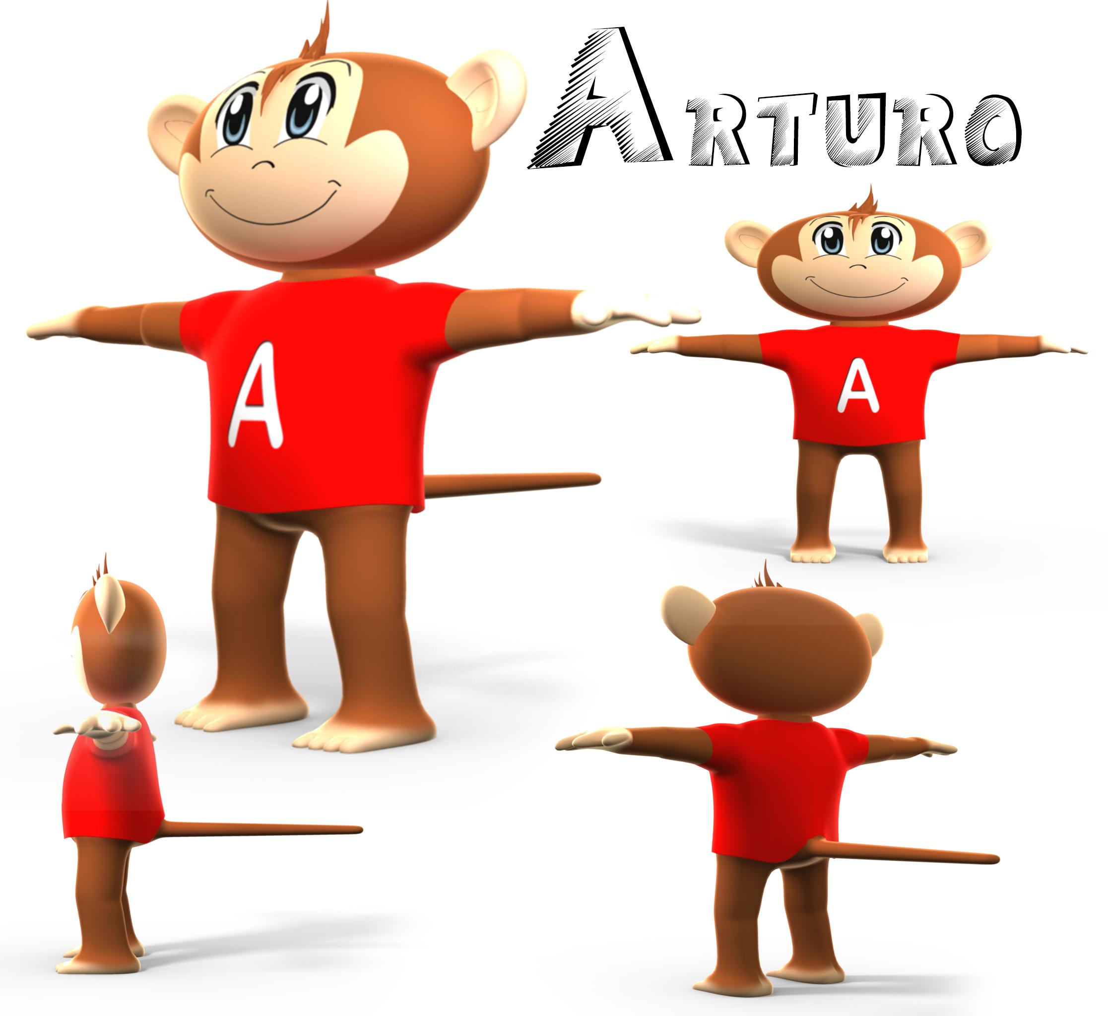 Arturo el Mono, our guide!