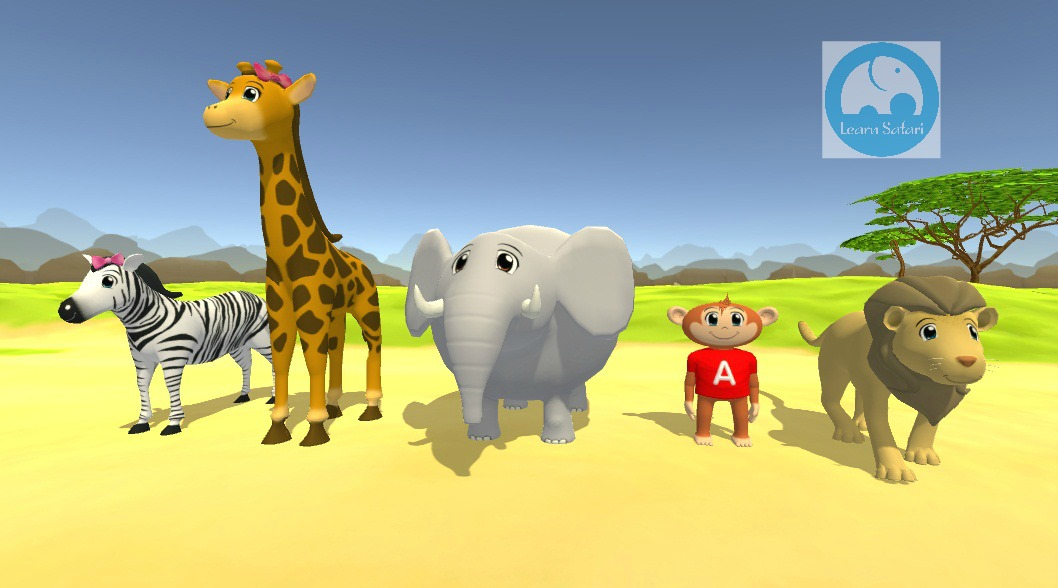 The whole Spanish Safari Vowel gang! Esteban has been finalized.