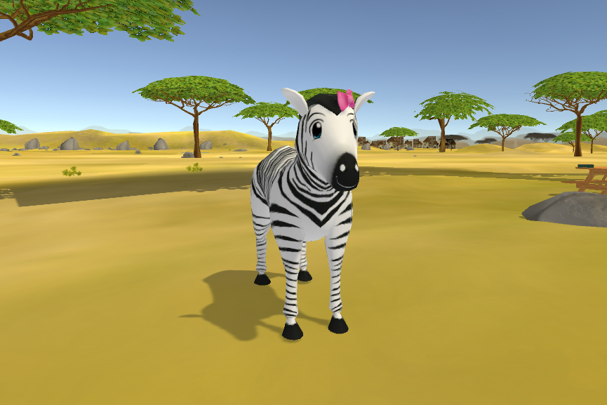 Final Version of Umi from Learn Safari - Front View